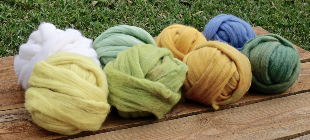 Goldenrod on Polish Merino